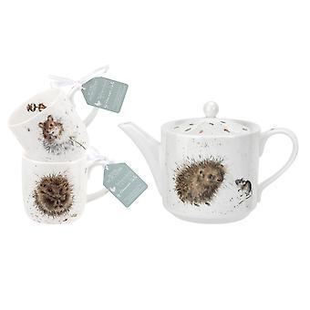 Wrendale Designs Teapot and Mug Set