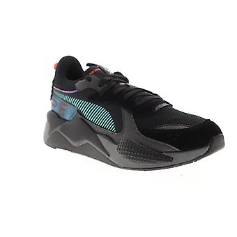 Puma RS-X Bladerunner  Mens Black Mesh Lace Up Low Top Sneakers Shoes