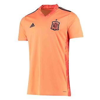 2020-2021 spanyol Home Adidas kapus póló (Orange)