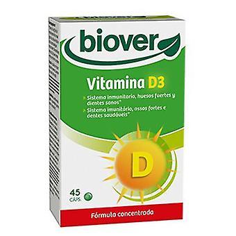 Biover Vitamin D3 45 Capsules