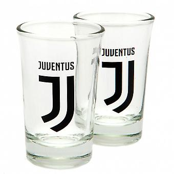 Juventus FC Shot Glass Set (Pack Of 2)