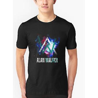 Alan galaxy black tshirt