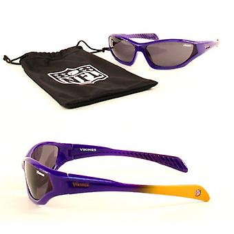Minnesota Vikings NFL Quake Kids Sunglasses & Bag Set