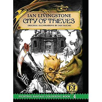 City of Thieves Colouring Book by Livingstone & Ian
