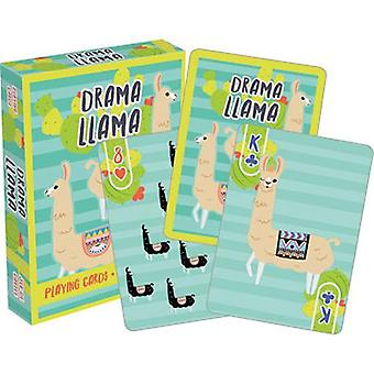 Drama llama playing cards