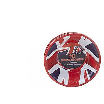 Union Jack Wear Union Jack Paper Party Bowls 7