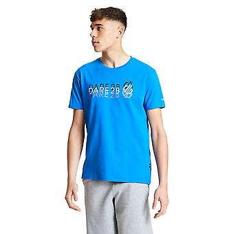 Durf 2b Mens Focalize Cotton Casual Logo T Shirt Tee