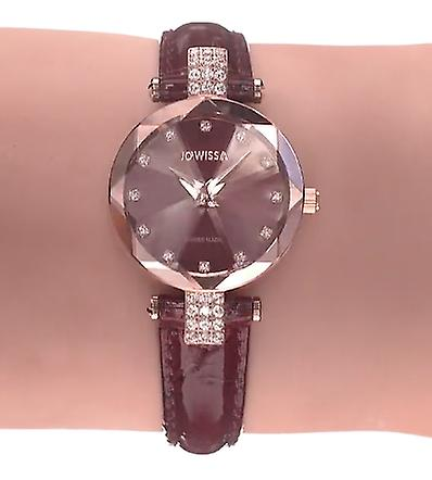 Facet strass swiss ladies watch j5.624.s
