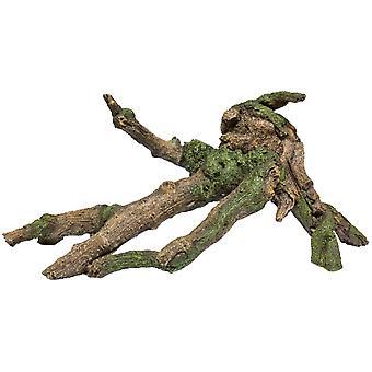 伊卡树脂树干伊卡医疗(鱼,装饰,岩石和洞穴)