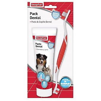 Beaphar Toothbrush and Toothpaste Kit (Dogs , Grooming & Wellbeing , Dental Hygiene)