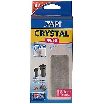 API Crystal Superclean90 / 120 X6 (pesce, filtri & pompe ad acqua, filtro spugna/gomma piuma)