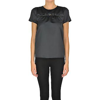 N°21 Ezgl068135 Women's Black Leather Top