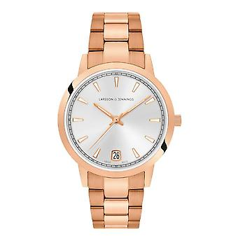 Larsson & Jennings Vel33-3lrg-lume-s-q-p-pgw Velo Rose Gold Plated Ladies Watch