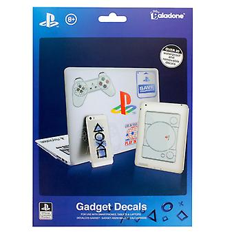 PlayStation Gadget Decals - Autocollants réutilisables et imperméables