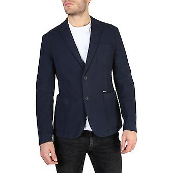Guess Original Men Fall/Winter Formal Jacket - Blue Color 38105