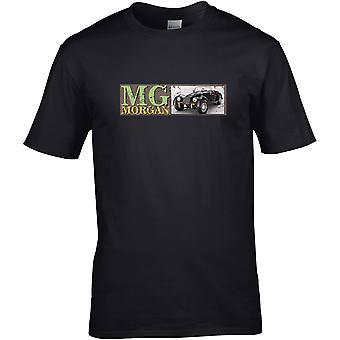 MG Morgan Classic - Car Motor - DTG Printed T-Shirt