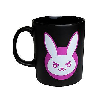 Overwatch mug, D.Va-Black