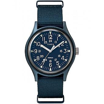 Timex miesten watch MK1 alumiini 40 mm nailon hihna TW2R37300
