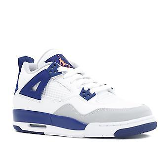 Air Jordan 4 Retro Gg (Gs) 'Knicks' - 487724-132 - Shoes