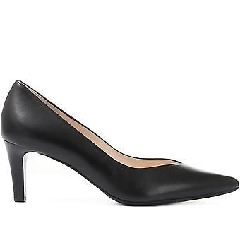 Hogl Womens Heeled Leather Court Shoes