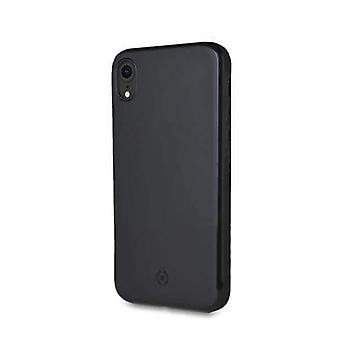 Celly Magnetic Ghost Backcover Hoesje iPhone XR - Zwart