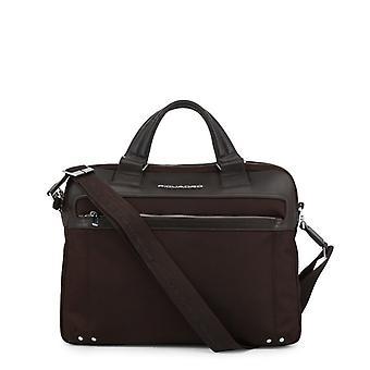 Piquadro Men Brown Briefcases -- CA33899696