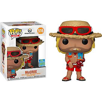 Overwatch McCree Summer Skin SDCC 2019 US Excl Pop! Vinil