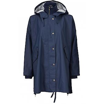 Masai Clothing Tone Blue Hooded Raincoat