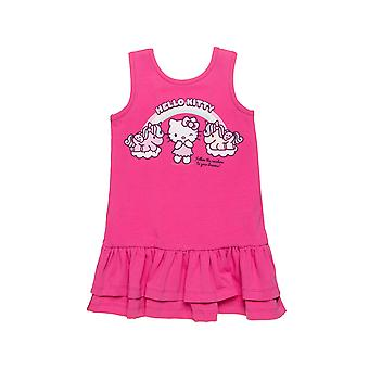 Alouette Girls' Hello Kitty Dress With Glitter And Open On The Back