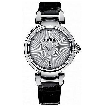 Edox Horloges LaPassion 2 Handen Women's Watch 57002 3C AIN