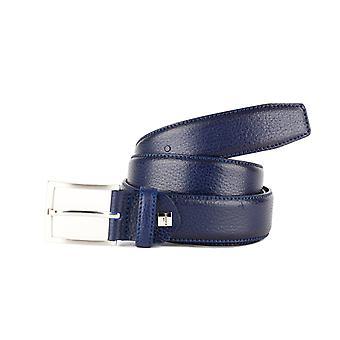 Blue Formal Men's Belt