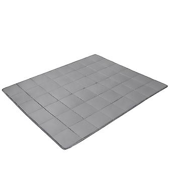 Premium Weighted Blanket Gravity Blankets Sensory Sleep Reduce Anxiety Cotton UK152X203cm 7.7kg