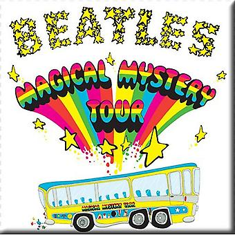 The Beatles Fridge Magnet Magical Mystery Tour new Official 76mm x 76mm