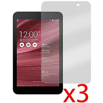 3x Anti-Glare Screen Protector til Asus MeMO Pad 7 ME176CX 7