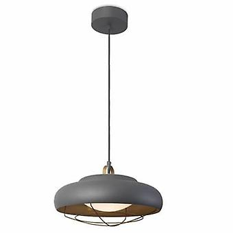 Integrated Led Dome Ceiling Pendant Light Gold, Grey