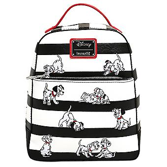 Loungefly Disney 101 Dalmatians Striped Mini Backpack