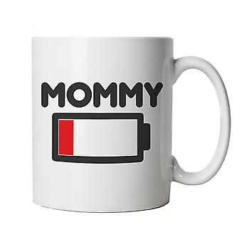 Mommy Low Battery Funny, Mug -  Mothers Day Cup Gift
