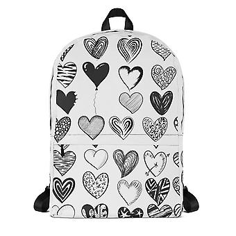 Delete backpack | hearts