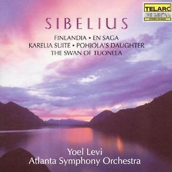 J. Sibelius - Sibelius: Tone Poems & Incidental Music [CD] USA import