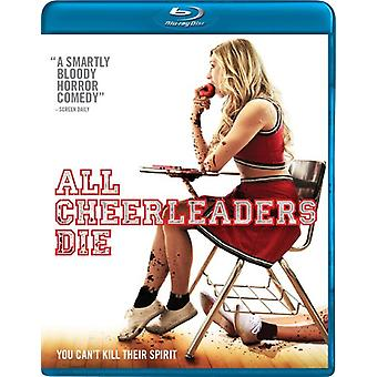 Alle Cheerleaders sterven [BLU-RAY] USA import