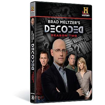 Brad Meltzer de gedecodeerde: seizoen 2 [DVD] USA import