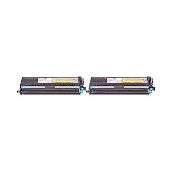 RudyTwos 2x Replacement for Brother TN-421C Toner Unit Cyan Compatible with HL-L8260CDW, HL-L8360CDW, DCP-L8410CDN, DCP-L8410CDW, MFC-L8690CDW, MFC-L8900CDW,