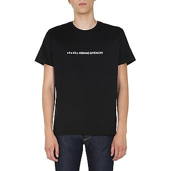 Givenchy Bm70y93002001 Uomo's T-shirt Black Cotton
