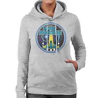 Atari Star Raiders Retro Women's Hooded Sweatshirt