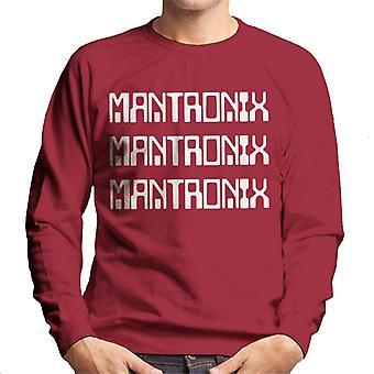 Mantronix White The Album Cover Men's Sweatshirt