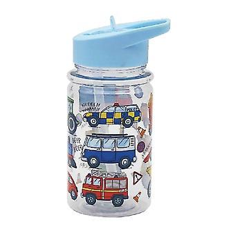 Little Stars Childrens/Kids Vehicles Drink Bottle