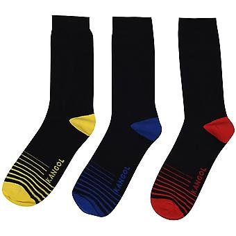 Kangol muodollinen sukat 3 pack miesten