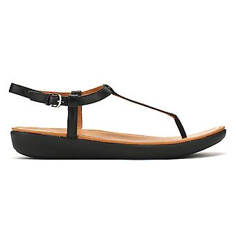 FitFlop Womens Black Tia Sandals