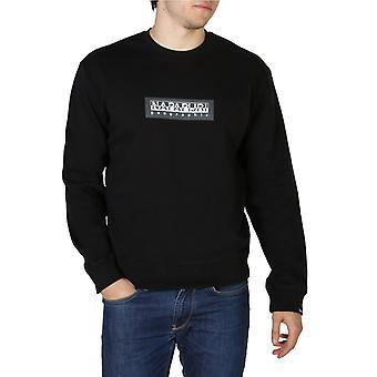 Napapijri boxc mænd's runde halsudskæring sweatshirt