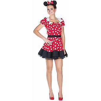 Mus Ladies Mouse Kostume Minnie mus dyr kostume Mickey Mouse
